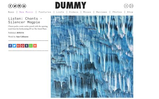 dummy-chant